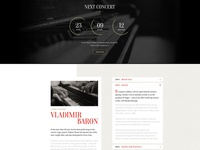 Home - Classic Music Template