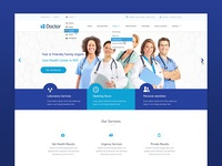 Doctor HTML Responsive Template