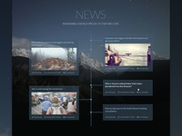 News Page Design - Pacific Template Html