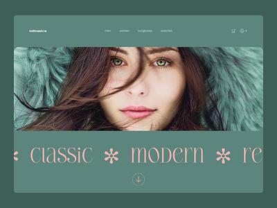 b2basics - website web design typeface visual design label header clothing brand web typography website ui design