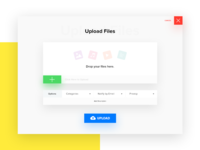 Upload Files Popup