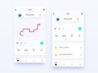 Activity Tracking App UI