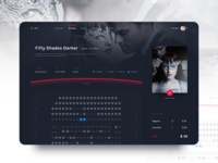 Cinema Tickets Booking UI