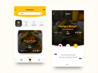 Restaurant List UI