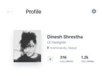 User profile ui    2x