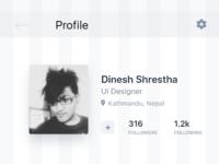 User profile ui  grid    2x