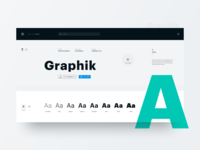 Graphik Typeface
