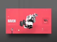 Raven Landing Page