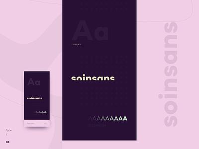 Type \ 03 - Soin Sans Neue Typeface poster typografia creative motivational inspiration typefaces soin sans neue type daily design art font clean minimal concept design color contrast typography typeface type