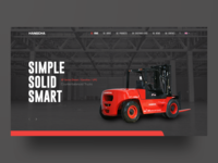 Hangcha Redesign - A forklift company