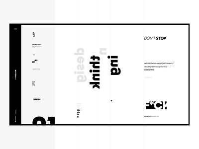 Typegasm clean minimal ui ux type lust typegasm website web design contrast weight size color typefaces type art type
