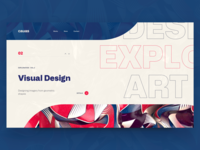 Cauas Web Layout - Visual Designs