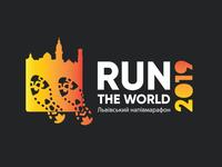 Logo for Lviv half marathon