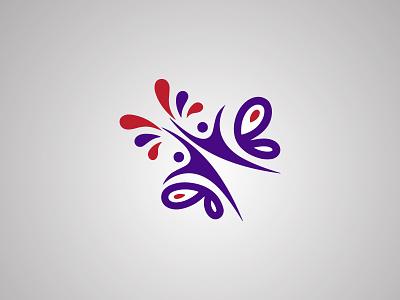 3D 2D logo design in illustrator branding typography minimal icon logo logotype graphicdesign illustration