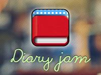 Diary Jam Icon