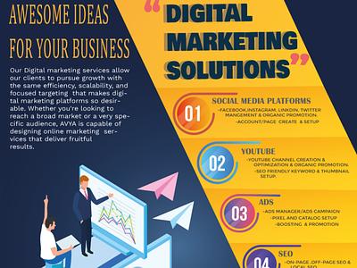 Digital Marketing solutions Design