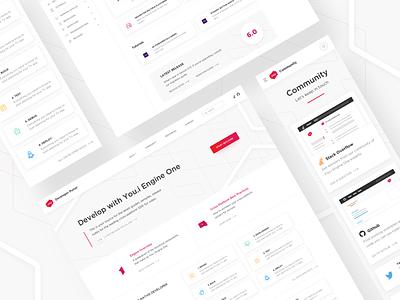 Docs Website Design design whitespace icons texture branding portal documentation ux ui web website design