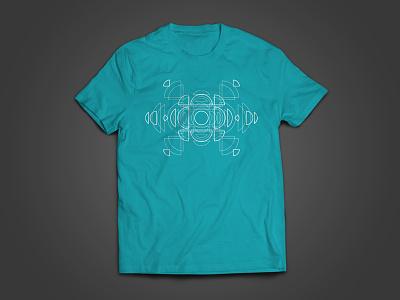 T-Shirt Graphic Concept layered logo shapes graphic tshirt t-shirt