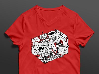 Company Culture T-Shirt culture shirt design design doodles illustration graphic t-shirt