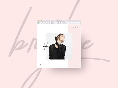 Brylee Design for Social Media kinfolk cereal lifestyle design typography minimalist layout graphic design