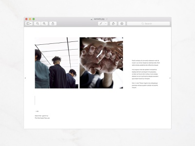 Portfolio Spreads lifestyle spreads magazine print design kinfolk cereal minimalist typography layout graphic design editorial