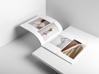 Lany Layout brand fashion print template indesign adobe catalogue catalog lookbook template lookbook editorial print design minimalist graphic design