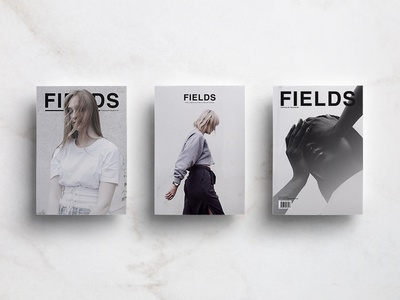 Fields Cover Editorial Challenge challenge typography design print minimalist cover magazine lifestyle layout kinfolk editorial cereal