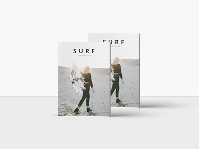 S U R F Design cereal kinfolk spreads magazine editorial lifestyle print design graphic design typography layout minimalist