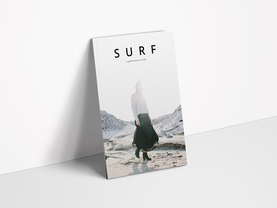 S U R F Perspective minimalist layout typography graphic design print design lifestyle editorial magazine spreads kinfolk cereal