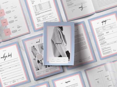 Madelynn Proposal cover letter estimate resume cv print invoice brief editorial pitch pack proposal