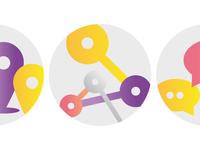Icon design for Netzwerk Studienorientierung Brandenburg