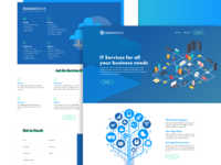 SolutionStack - Landing Page