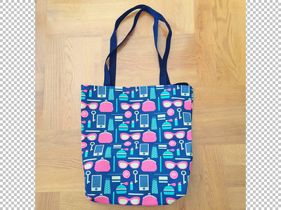 Bag for my sister with my design woman vector pattern design textile bag