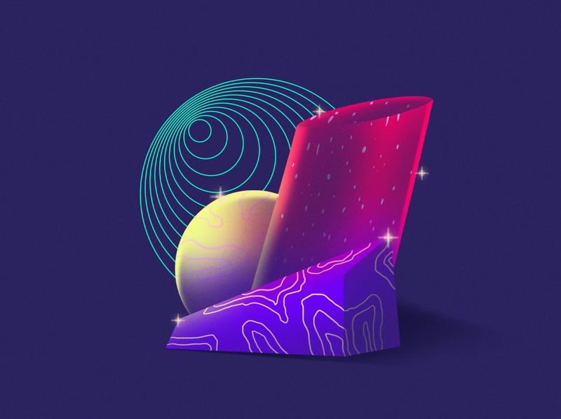 AbstractShapes - Styleframe shapes abstract geometric illustration animation styleframe
