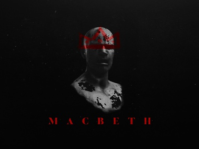 Styleframe - Macbeth movie title death c4d photoshop styleframe rage crown king motion macbeth