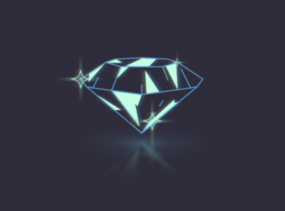 StyleFrame04 - Motion shine diamond design illustration styleframe animation motion
