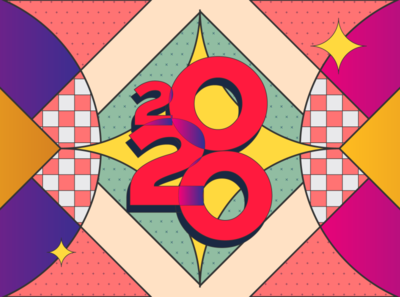 Styleframe New Year illustration graphic design styleframe new year