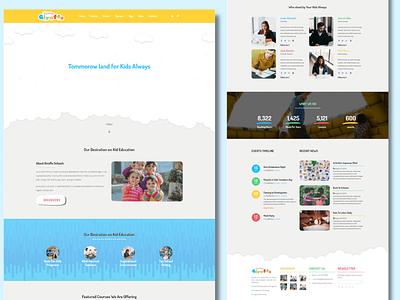 Little Giraffee Kindergarten Website javascript responsive website design psd to html html css webdesign html5 design css3 bootstrap