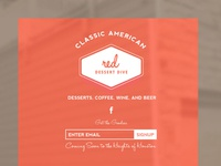 Red Dessert Dive :: Branding