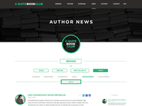 Blog Page Filter