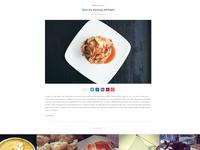 Dessert Blogging