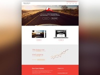 Direct Mail + Email Marketing Website
