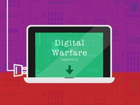 Digital Warfare Infographic