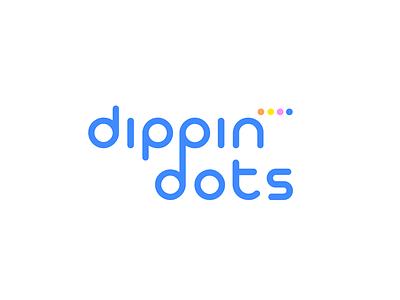 Dippin' Dots Logo Redesign ice cream redesign logo design logo dots dippin dots