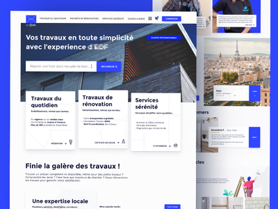 Exploring new homepage, colors and fonts