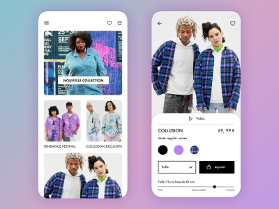 Asos Revamp fashion ecommerce mobile product design