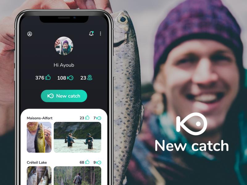 Fishing fishing figmadesign mobile ui product design