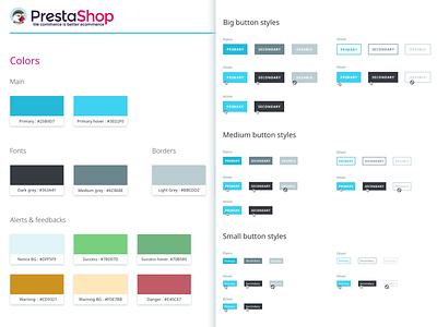 UI Kit Back Office PrestaShop 1.7 style-guide guidelines ui-kit uikit ux ui design-guidelines back-office prestashop