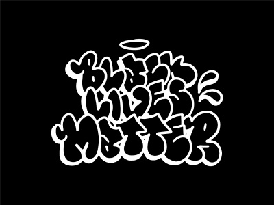Black Lives Matter america creativity creative society human protest fashion apparel graphic design design illustration illustrator letters typography street art throwup graffiti equality blm black
