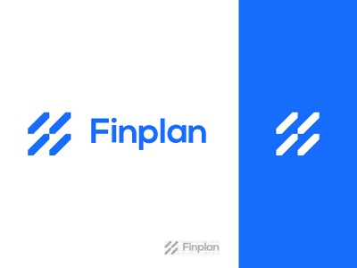 Logo  FinPlan finance graphic design design app icon illustration typography vector branding logo